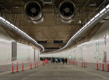 Newly finished SR 99 tunnel in Seattle