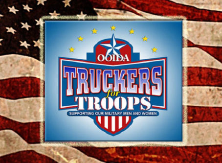 Truckers for Troops telethon logo