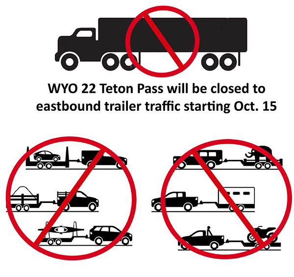 Teton Pass trailer ban