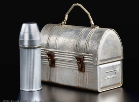 Vintage lunchbox. Washington Trucking Associations want to preempt state break law.