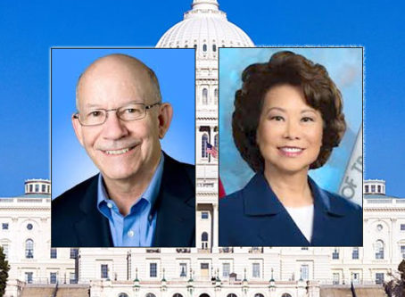 Rep. DeFazio, Transportation Secretary Chao
