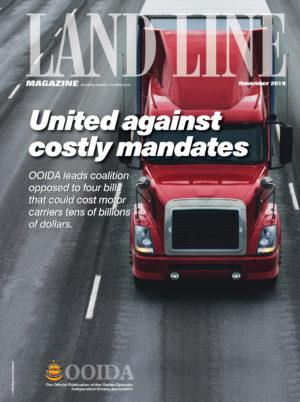 November 2019 cover Land Line Magazine