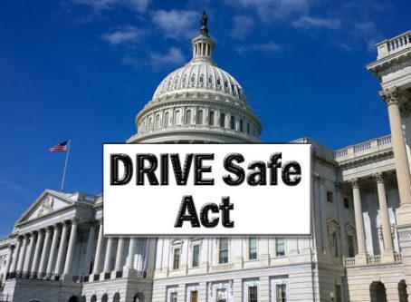 U.S. Capitol, DRIVE Safe Act