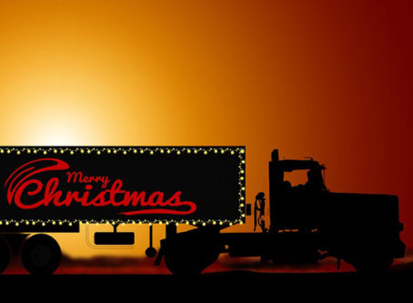 holiday freight Christmas