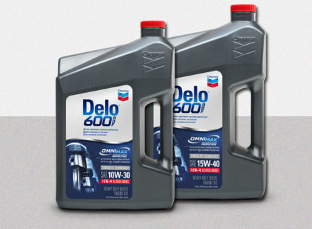 Chevron Delo 600 ADF 15W-30 and 15W-40