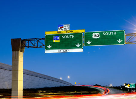 The Central Texas Regional Mobility Authority has tolls along U.S. 183 near Austin and Leander.