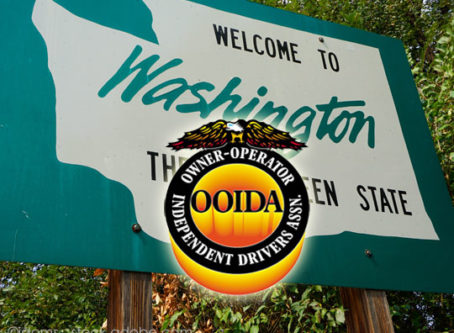 No preemption requests in Washington, OOIDA says