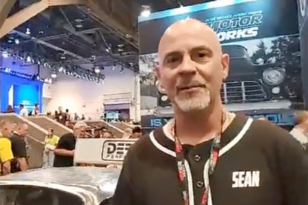 Sean Puz, owner of IlCapo, winner of the 2019 International RATical Rod drive-off/build-off