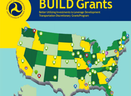 U.S. DOT invests $900 million in BUILD infrastructure grants