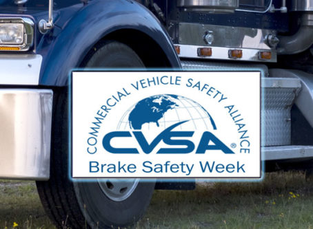 CVSA Brake Safety Week 2019