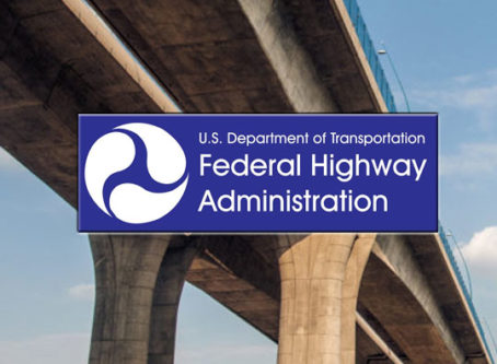 FHWA logo, bridge