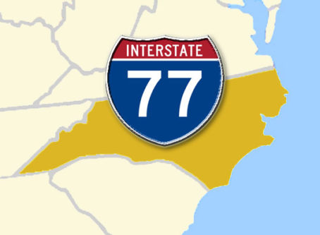 I-77 Express open in North Carolina