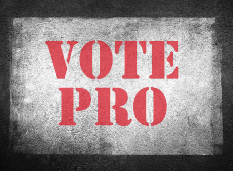 Vote Pro – Tony Pro ran to be elected president of badass Local 560