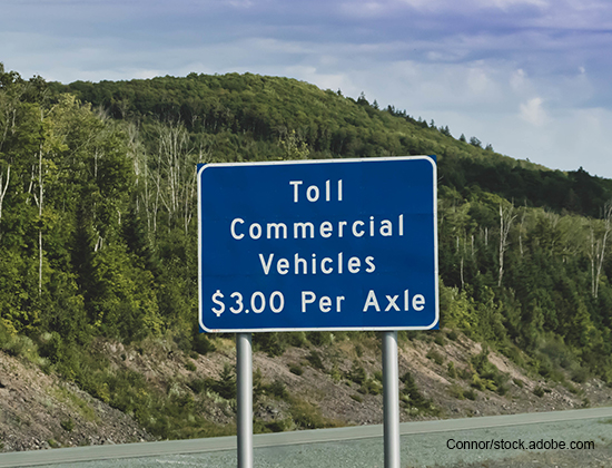 toll rates tolling to fund roads