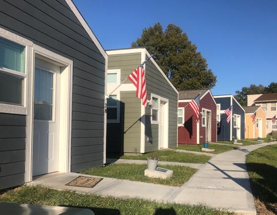 tiny houses veterans