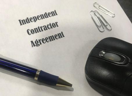Independent contractors state targets independent contractors
