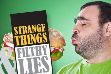 Strange Things Filthy Lies condiments