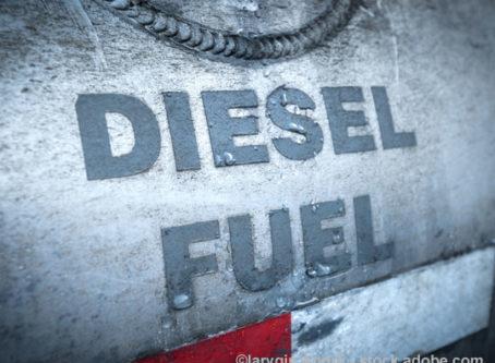 Average U.S. diesel price barely budges