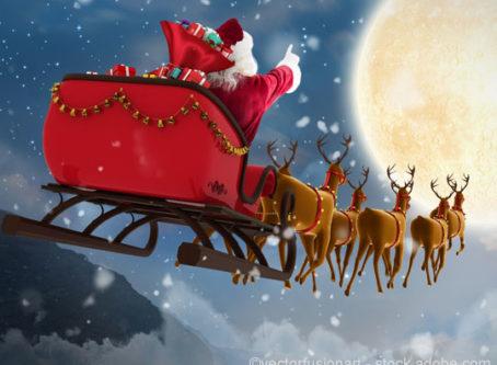 Sleigh Bells and Santa helps kids of fallen truckers