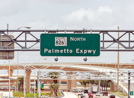 Palmetto Expressway sign