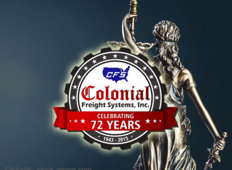 Colonial Freight, Lady Justice