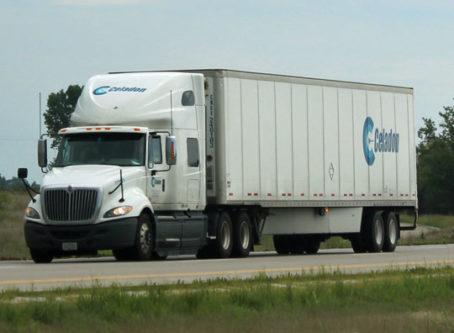 Celadon truck