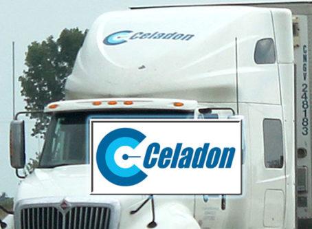 Celadon truck, logo