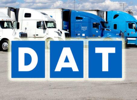 DAT Solutions logo, trucks