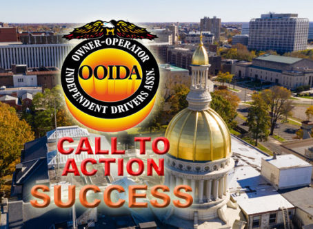 New Jersey bills stall after OOIDA members voice dissent