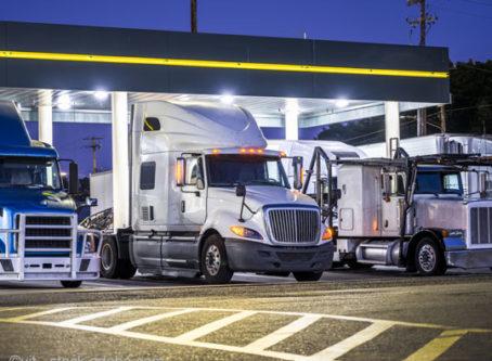 Diesel fuel pumps, semi trucks