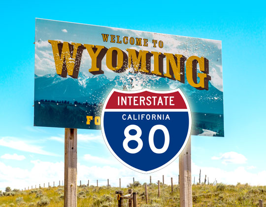 tolling on interstate 80 I-80 toll effort advances in Wyoming statehouse