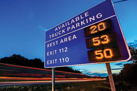 Truck Parking signage