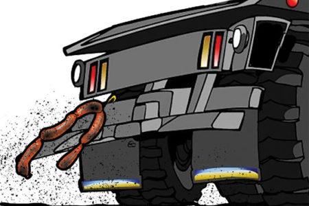 Sausage trailer