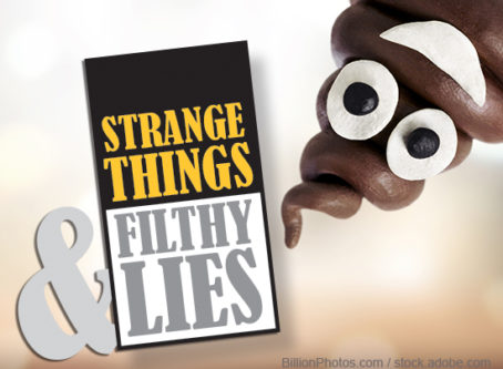 Downward facing toilet Strange Things & Filthy Lies