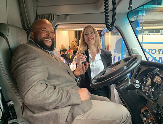 Transition Trucking 2019 Winner Joseph Campbell, Jr.
