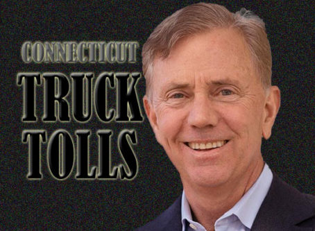 Connecticut Gov. Ned Lamont is pushing truck-only tolls