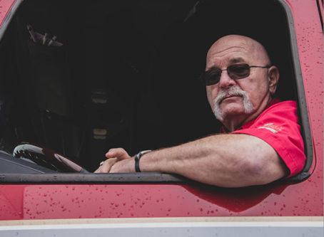 Jon Osburn, OOIDA's ambassador and skipper of the Spirit of the American Trucker