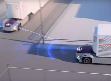 Volvo Trucks' Vera driverless semi tractor