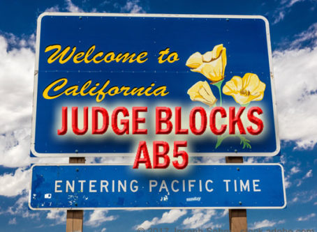 Judge blocks AB5