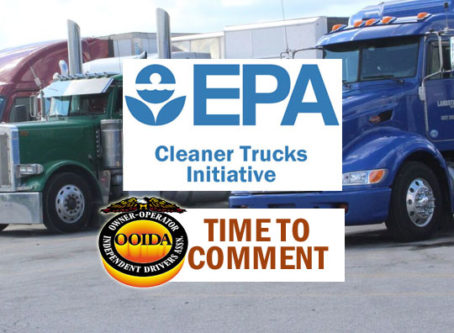 OOIDA: Send EPA feedback on Cleaner Trucks Initiative