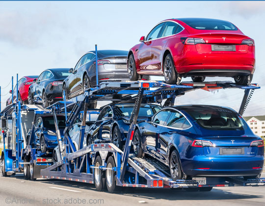 Automobile transporters car hauler