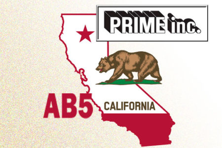 Prime takes wait-and-see approach to California's AB5
