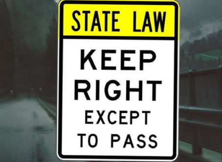 Left lane law revisions under review coast to coast