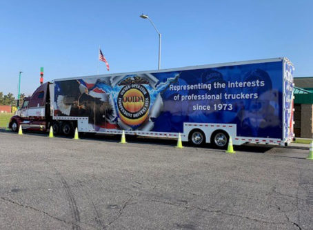 Tonopah, Ariz., is the next stop for OOIDA's tour trailer
