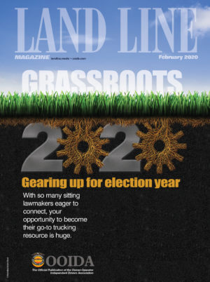February 2020 Land Line Magazine Cover Grassroots