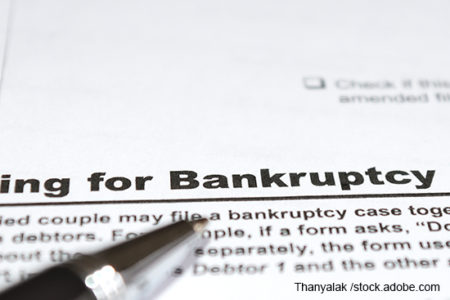 trucking bankruptcies