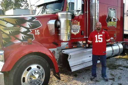 Warpaint Chiefs Truck Robert Hardwick