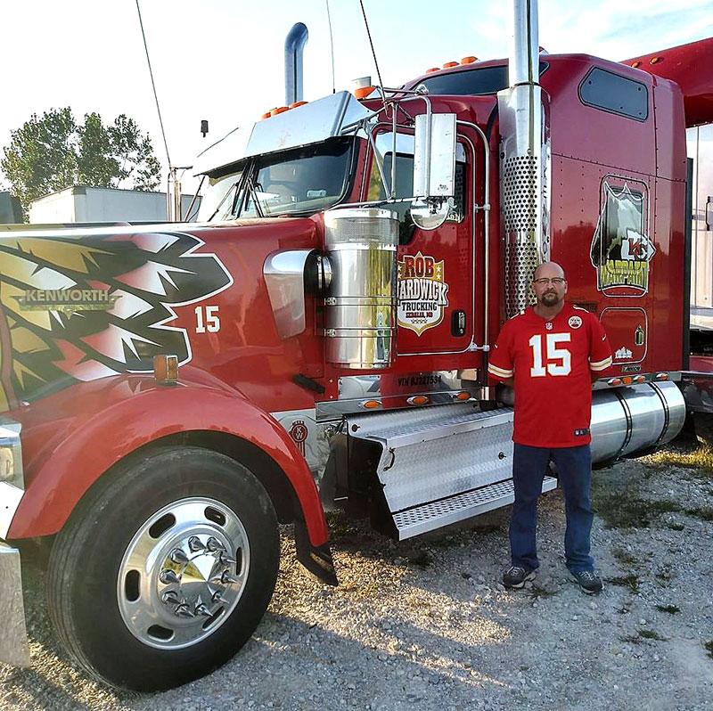 Warpaint, Chiefs Truck, Robert Hardwick