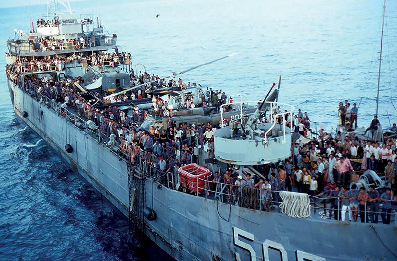 USS Kirk, Vietnam