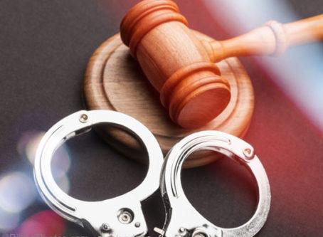 handcuffs, gavel, moving company fraud conviction